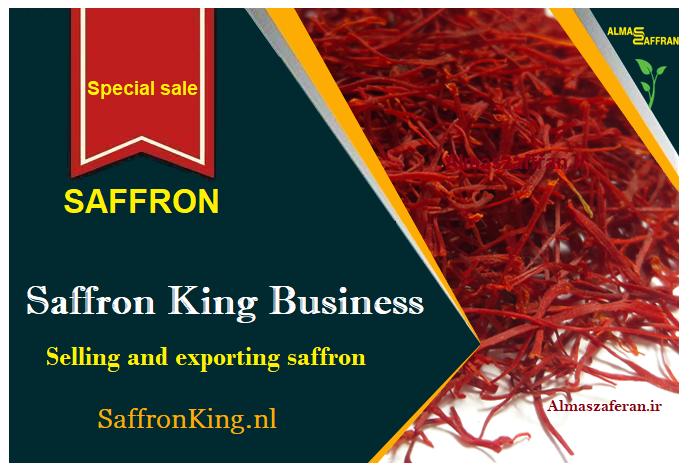 Grote verkopen van saffraan