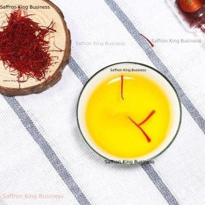 Saffron export to France