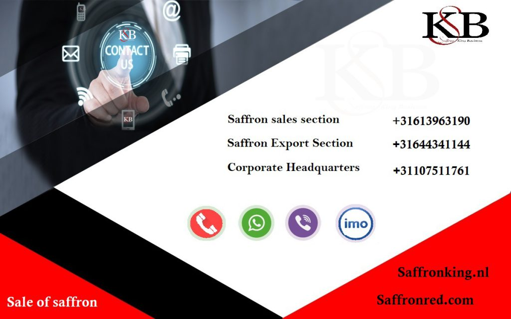 Collaboration with Saffron king Business Company