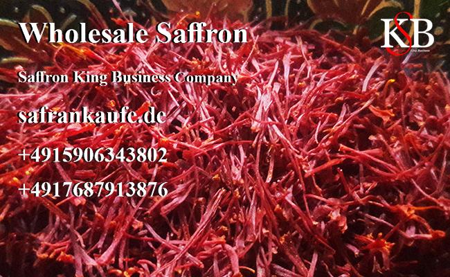 Planting pure saffron