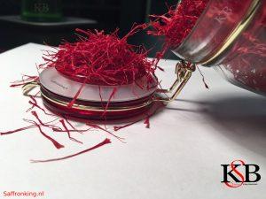The price of saffron per kilo