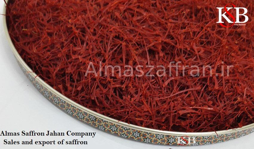 Prices of saffron in Khuzestan and export saffron in Ahvaz