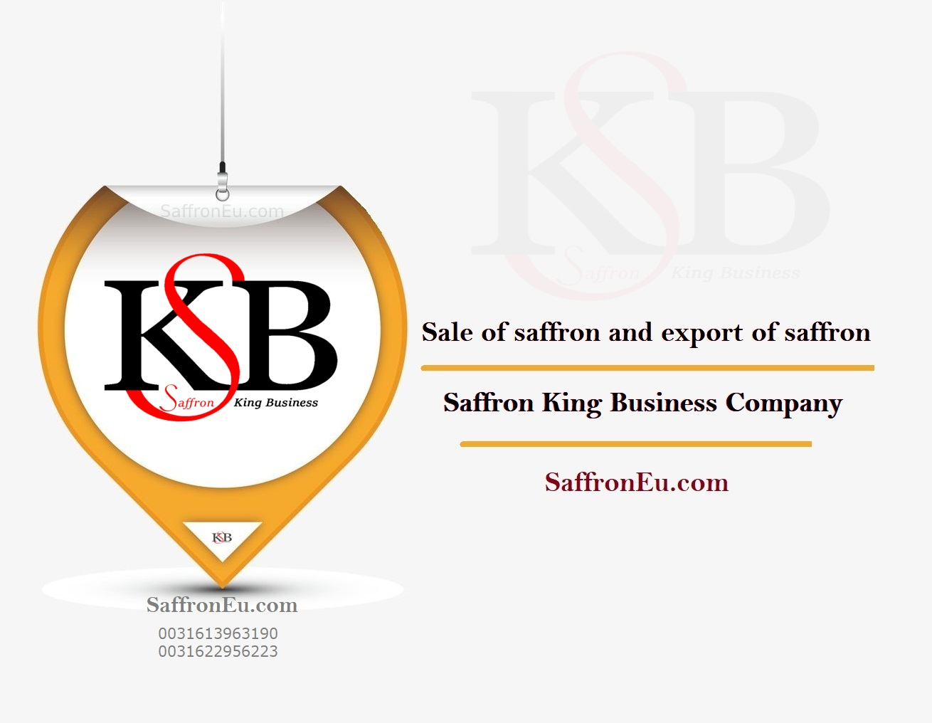 Buy saffron from the company