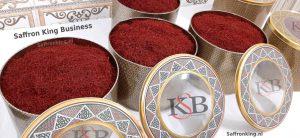 Price per kilo of saffron in the European market