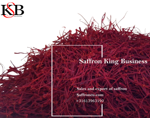 Sale of saffron in Turkey