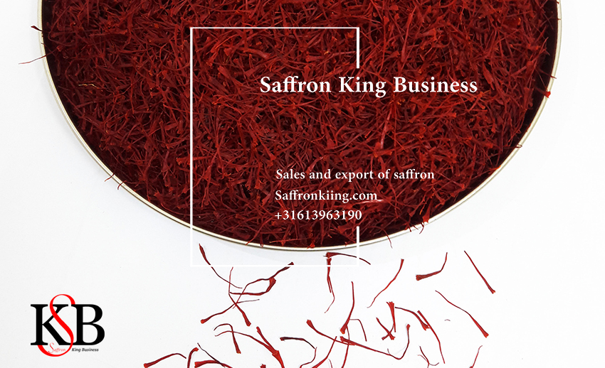 Kilo saffron in saffron store