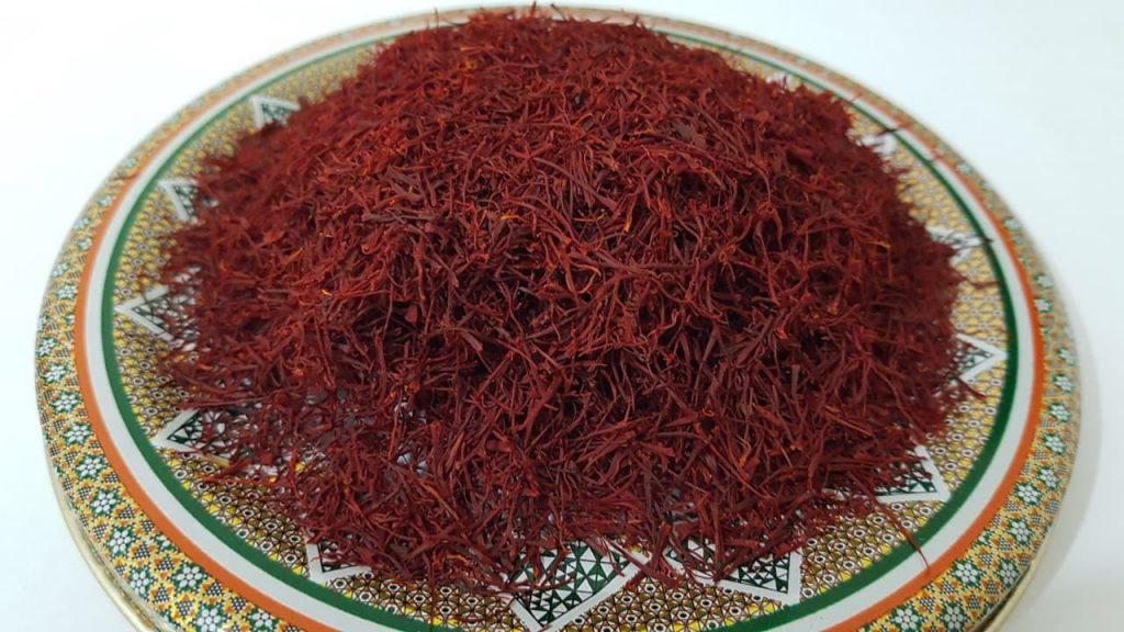 Export of saffron to Europe