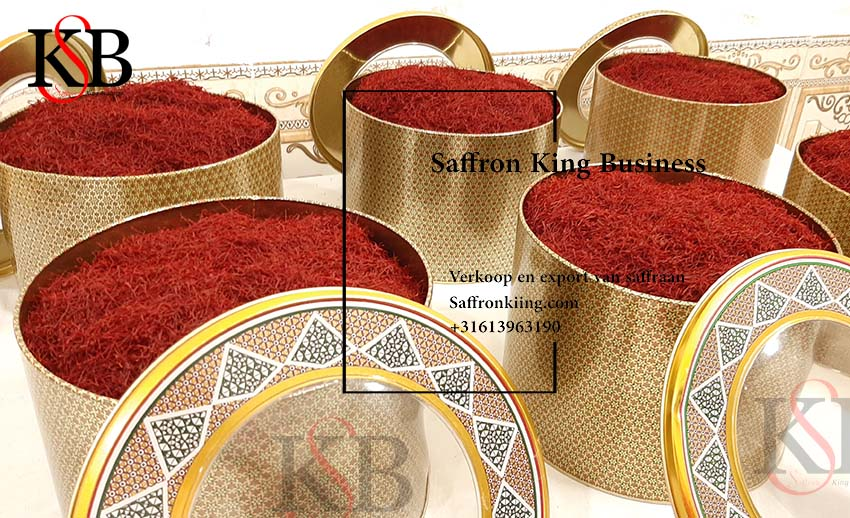 German market and buying and selling saffron