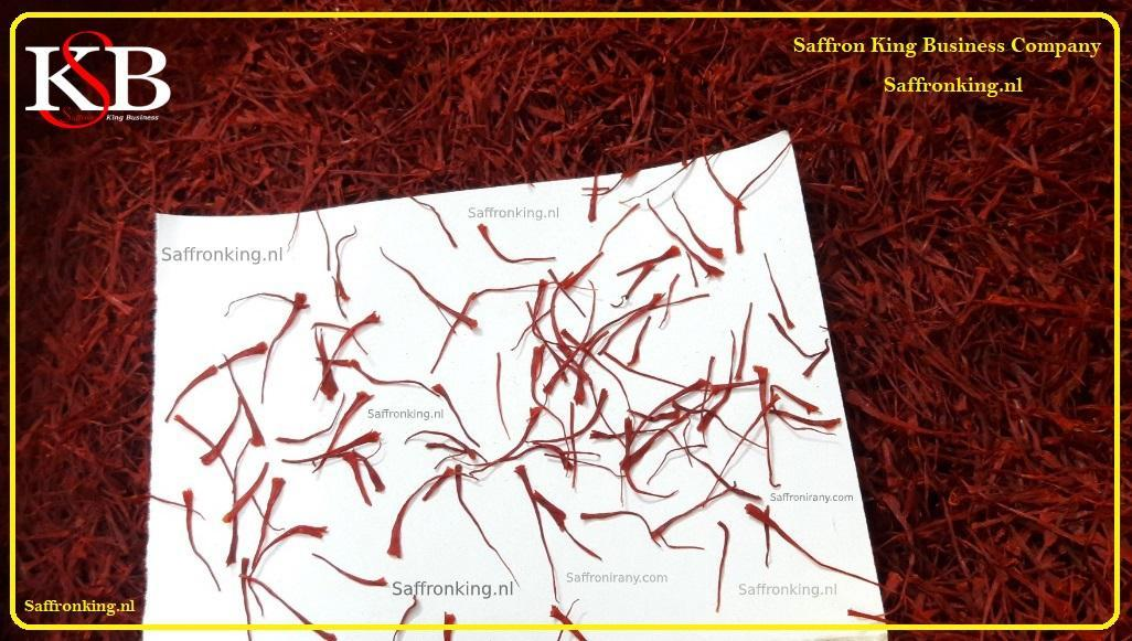 Afghan saffron prices in Europe