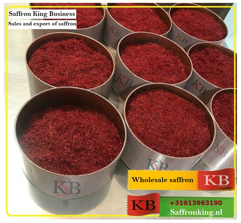 How is the price of saffron in Iraq and Iran?