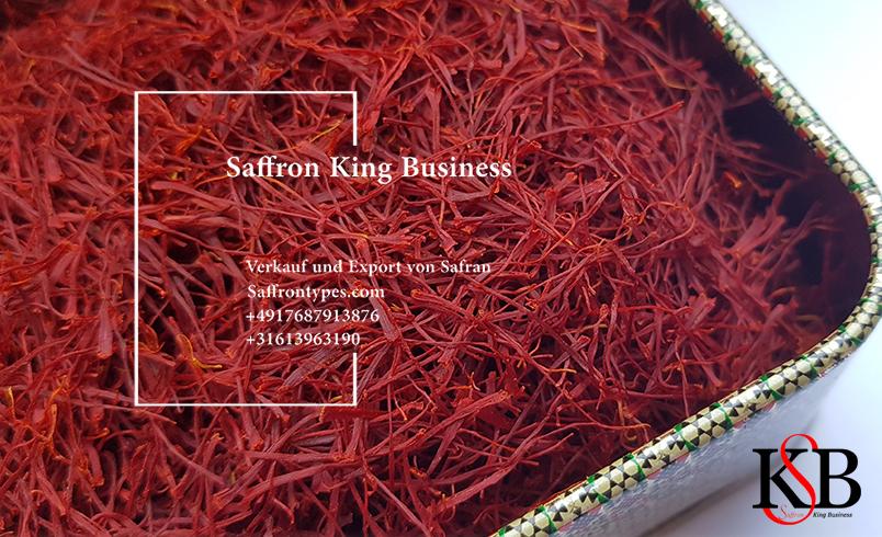Safranexportmethode in unseren Unternehmen