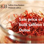 Sale price of bulk saffron in Dubai