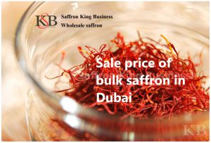 Sale price of bulk saffron in Dubai