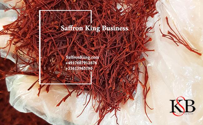 The use of saffron