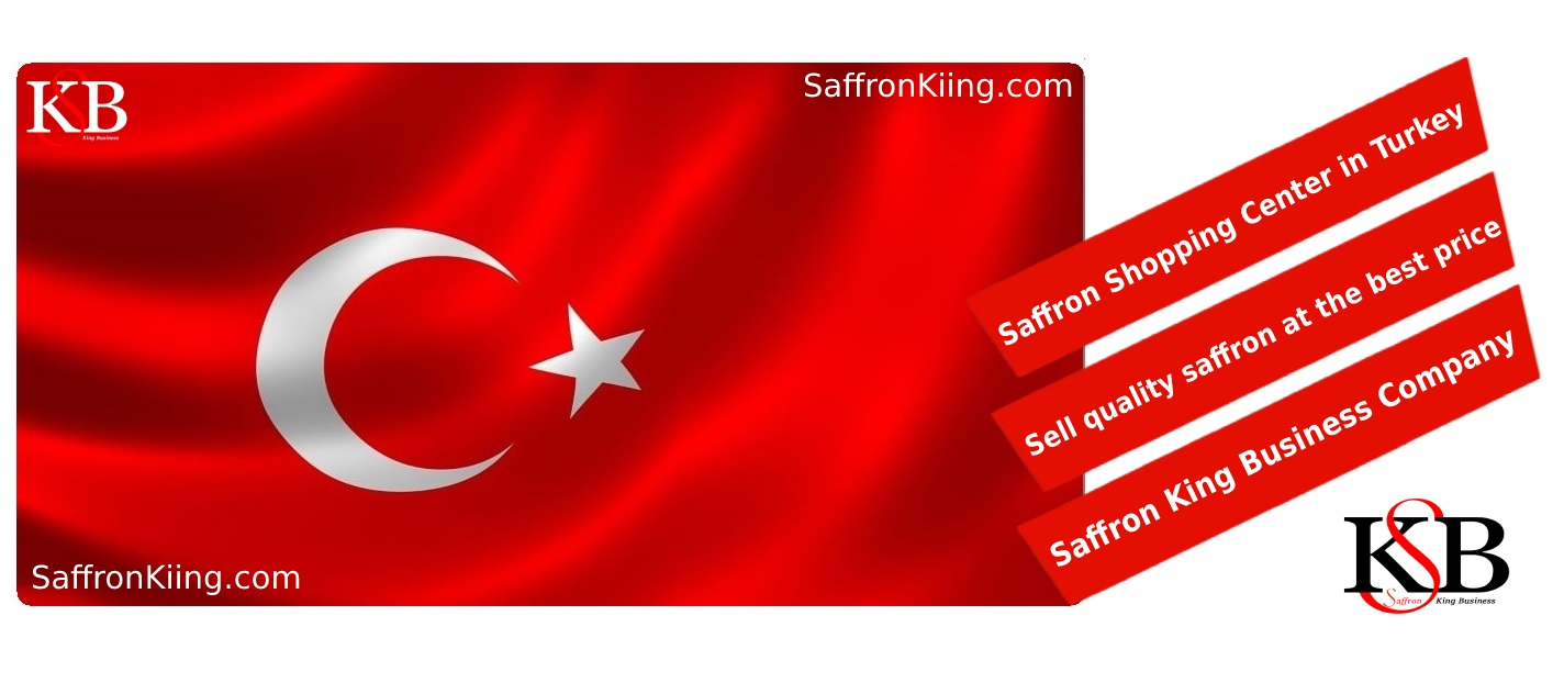 Export of saffron to Turkey and selling price of saffron