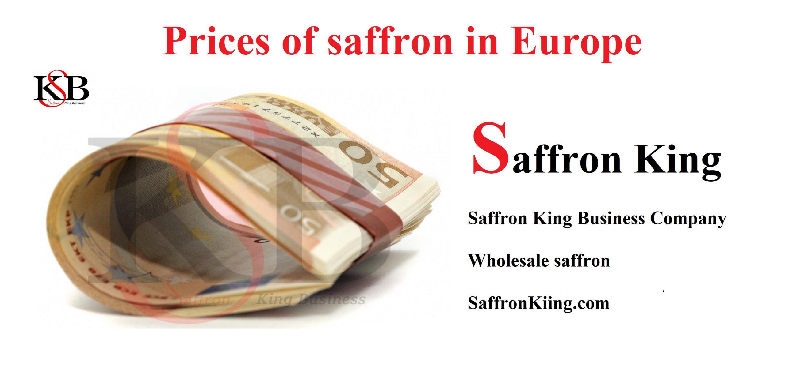 Price per kilo of saffron